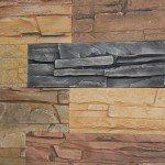 фото декоративной плитки для фасада альпийский сланец
