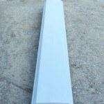 Перила прямые. Длина 1640 мм, ширина 200 мм, высота 60 мм, вес 40 кг - 1600 руб. за 1 шт.