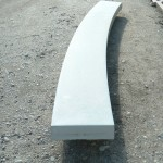 Основание радиальное. Длина 1640 мм, ширина 200 мм, высота 60 мм, вес 40 кг - Цена: 1350 руб. за 1 шт.