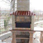 барбекю из бетона - фото 3