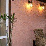 Пример применения гипосового фасада в интерьеры квартиры