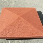 рыжий, бетонный, квадратный