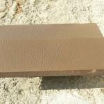 прямоугольный, коричневый