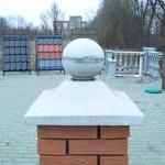 Пагода с шаром, размер: 460х460, вес: 56 кг, цена - 700 руб.