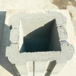 Заборные блоки могут составлять любую высоту