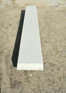 Основание лестницы бетонное прямое