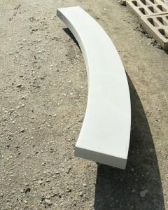 Основание бетонное радиальное для лестницы