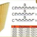 Размеры и схема колонны (пилястры) ТКЛ1