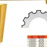 Схема и размеры полуколонны ТКЛ12