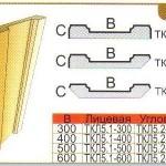 Колонна угловая (пилястра) из пенополистирола ТКЛ5
