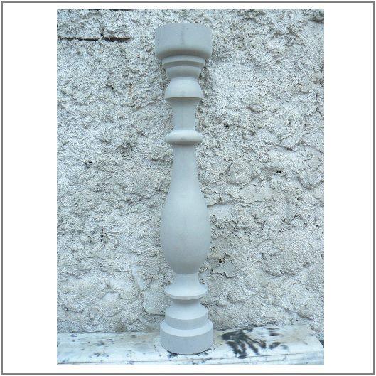 Балясина из бетона с двумя кольцами