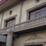 Балкон с балясинами