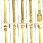 схема: варианты колонн, пилястр