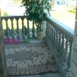 бетонные перила и балясина на веранде фото 2
