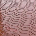 фото тротуарной плитки «полуволна»
