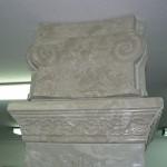 Верх колонны. Основной материала - пенополистирол
