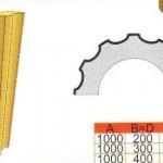 Схема и размеры полуколонны ТКЛ11