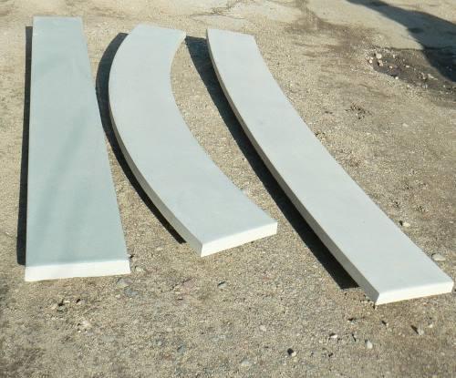 Перила бетонные нижние