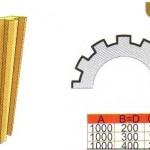 Схема и размеры полуколонны ТКЛ15