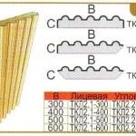 Колонна угловая ТКЛ2