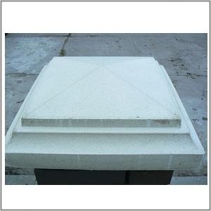Козырек Пирамида (для столбов)