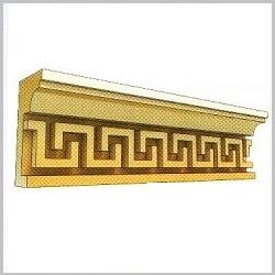 Карниз декоративный из пенополистирола ВК40