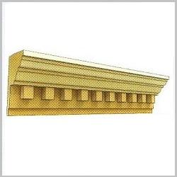 Карниз для фасада ВК43