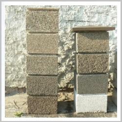 блоки из мытого бетона