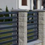 Забор из бетонных блоков фото 4