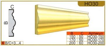 размеры наличника НО30