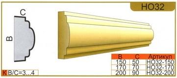 размеры наличника НО32