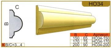 размеры наличника НО34