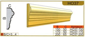 размеры наличника НО37