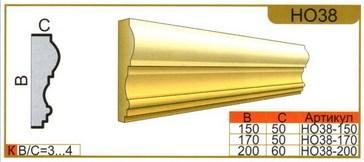 размеры наличника НО38