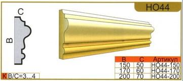 размеры наличника НО44