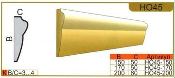 размеры наличника НО45
