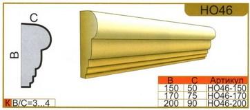 размеры наличника НО46