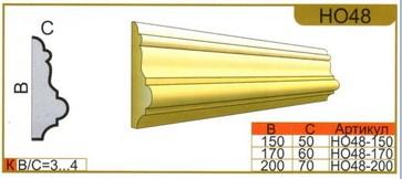 размеры наличника НО48