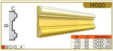размеры наличника НО20