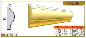 Размеры наличника НО26