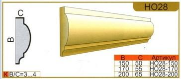 размеры наличника НО28