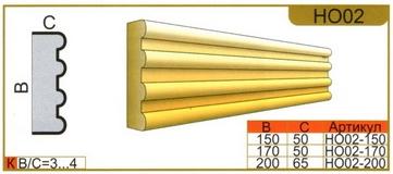 размеры наличника но02