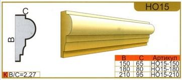 наличник НО15 размеры
