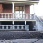 балясины бетонные - выполненная работа