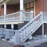 балясины бетонные - выполненная работа фото